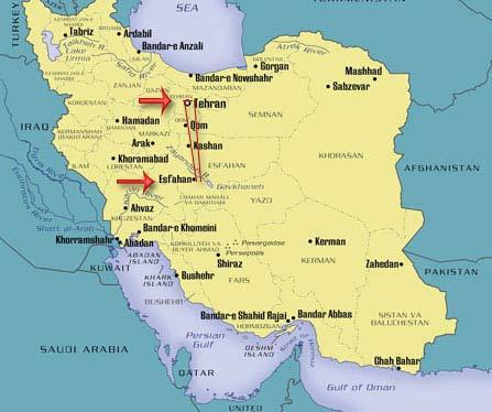 Tehran travel guides 2020– Tehran attractions map – Iran ...