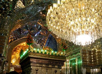 حرم شاه چراغ ، شيراز - Shahe cheragh mausoleum Shiraz By Hussein Fallah, all rigths reserved.