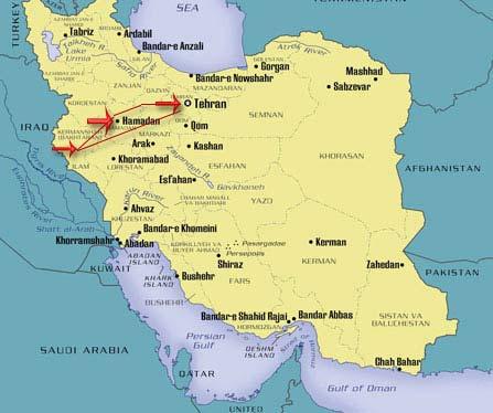 Hamedan, Kermanshah & Western Iran highlights in 4 day tour package