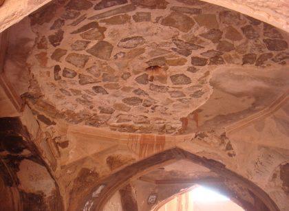 Abyaneh, Porzaleh mosque.
