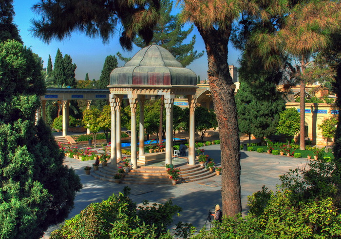 Hafez Shirazi Shrine, Shiraz, Iran