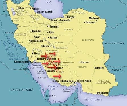 Iran Fars Qashghae nomads migration tour