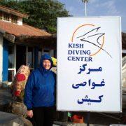 Kish diving Iran PADI persian gulf