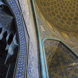 Sheykh Lotf Allah mosque Iran by Farid Atar
