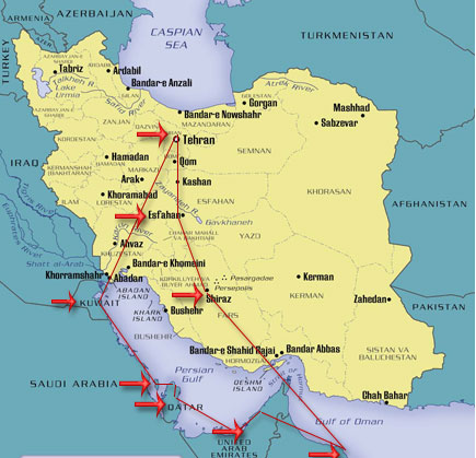 The Arab Kingdoms of the Persian Gulf and Iran tour package