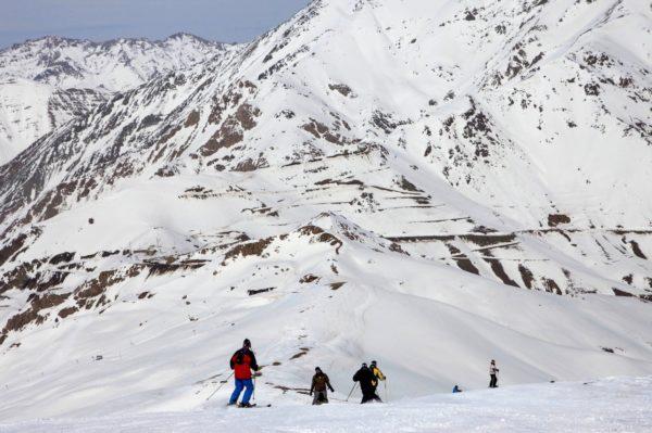 Dizin Ski Slope