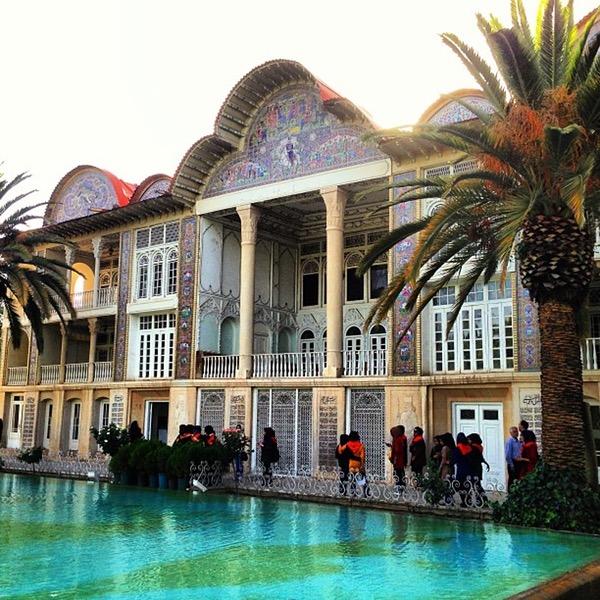 Sentral persian sojourn, persiatours, Eram garden