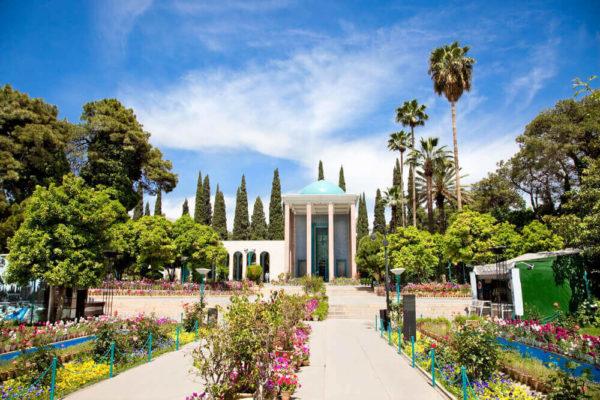 Sentral persian sojourn, persiatours,Tomb of Saadi